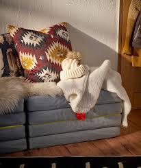 Diversi pouf hanno un pratico vano contenitore per conservare oggetti. Slakt Pouf Materasso Pieghevole Ikea It