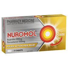 Nuromol Tablets Adult Pain Relief Nurofen Australia