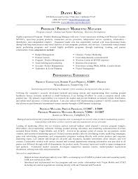 Product Marketing Manager Resume Resume Programproduct Marketing