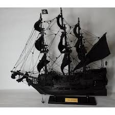 black pearl 100 hand made wooden pirate ship model 40 加勒比海黑