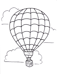 hot air balloon coloring page. Wonderful Page Hot Air Balloon Coloring Pages  Free Large Images On Hot Air Balloon Coloring Page T