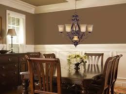 dining room lights at