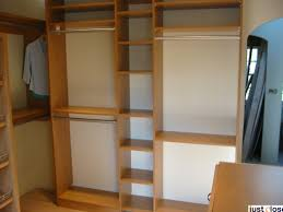 built in shelves in master bedroom closet