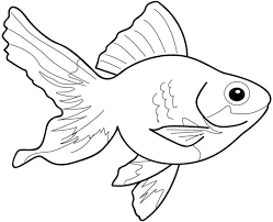 Small Picture Goldfish Coloring Page Miakenasnet