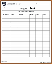 Payroll Sign Off Sheet Template Club Sign Up Sheet Template Elegant 5 Payroll Sign Off Sheet