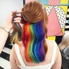 #gerhun @dfb_team #regenbogenfarben #regenbogen #neuesprofilbild pic.twitter.com/nczkqrs1bn. Versteckte Regenbogen Haare Darum Liegt Hidden Rainbow Im Trend