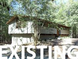 Deck House Renovation In Chapel Hill North Carolina - Exterior house renovation