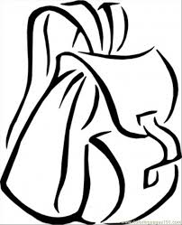 Small Picture Backpack Coloring Pages Bestofcoloringcom