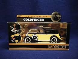 2007 Corgi James Bond 007 The Director's Cut <b>Goldfinger Rolls</b> ...