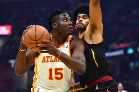 Atlanta Hawks the only team with three players averaging double-doubles