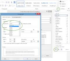 Microsoft Word Outline Template Outlining