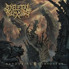 "<b>SKELETAL REMAINS</b> ""<b>Devouring</b> Mortality"" LP - Evil Greed"