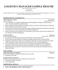 resume summary examples logistics manager logistics manager resume sample job interview career guide manager resume sample logistics resume