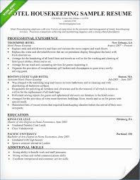Executive Housekeeper Resume Simple Classy Housekeeping Resume Examples Samples Resume Design
