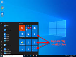 Window 10 Apps Fix Problem Windows 10 Apps Are Not Shown In The Start Menu