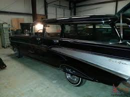 Chevy Bel Air Station Wagon Custom Lowrider Low Rider Black Silver ...