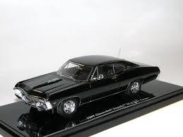 Tsm Model 1967 Chevrolet Impala Ss Coupe Tuxedo Black 1 43 In Ovp