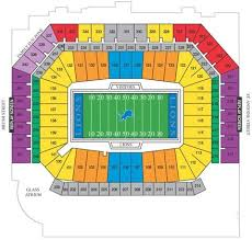 Ford Field Parking Maps Ford Field Places To Visit