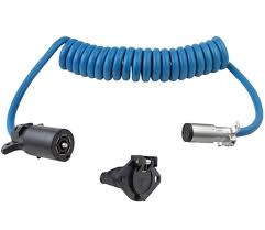 blue ox bx88206 7 way to 6 way electrical coiled cable