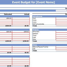 budgeting plans templates free event planning budget template