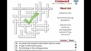 cc how to write an essay crossword mini  cc7106 how to write an essay crossword mini