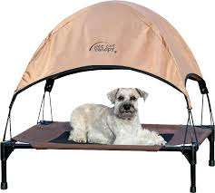Elevated Outdoor Dog Bed Outdoor Elevated Dog Bed With Canopy King ...