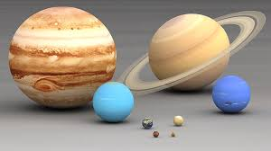 Planet Diameter Chart The Planets In Our Solar System In Order Of Size Universe