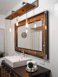 rustic bathroom lighting fixtures. Furniture Idea Tempting Rustic Bathroom Light Fixtures And Best Lighting D