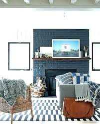 stone fireplace painted white painted fireplace ideas