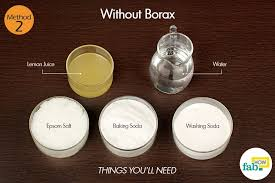 homemade dishwashing detergent without borax things need washing soda 1 cup