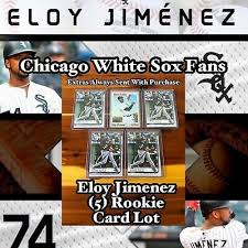 Sent from my iphone using tapatalk. Check Out Chicago White Soxs Eloy Jimenez 5 Rookie Card Lot Ebay Eloy Cards Chicago