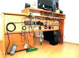 Office cord management Hide Desk Cord Management Office Desk Cable Management Office Cord Within Computer Cord Management Prepare Neprakaituok Pc Desk Cable Management Organikaclub With Computer Cord Management