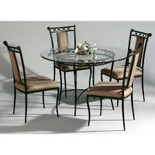 Small Picture Dining Room The Most Awesome Wrought Iron Chairs Pertaining To