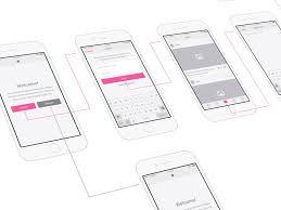 Snap UI kit - iOS Wireframes | Graphic Legion