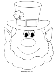 Small Picture Leprechaun coloring page