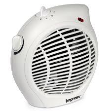 fan heater. amazon.com: impress im-701 1500-watt compact fan heater with adjustable thermostat: home \u0026 kitchen e