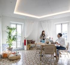 airbnb office. Take A Peek Inside Airbnb\u0027s New Loft-Inspired Office Space In Paris - Photo 3 Airbnb