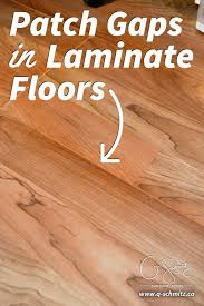 how to patch gaps in laminate floors when you have removed a wall or want to join two sections of laminate flooring together and can t snap together