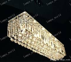rectangular crystal chandelier dining room modern rectangular crystal chandelier dining room length led rectangular crystal chandeliers