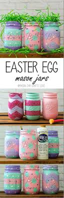 Crafts With Mason Jars Easter Craft With Mason Jars I Know It Says Easter But Who