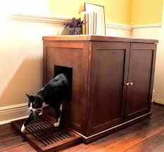 cat litter box furniture diy. Full Size Of Decoration Make A Cat Litter Box That Doubles As Bench Space Saving Furniture Diy E