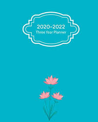Multi Year Planner Pdf 2020 2022 Three Year Planner 36 Month Calendar
