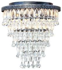 glass drop chandelier 7 light flush mount glass drop chandelier antique silver celeste tapered glass drop glass drop chandelier
