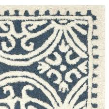 awesome navy and gray rug or square hand woven wool navy ivory area rug 49 navy