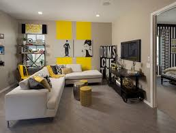 grey and yellow furniture. Modern Grey And Yellow Living Room Designs Furniture N
