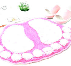 pink bath rugs jcpenney