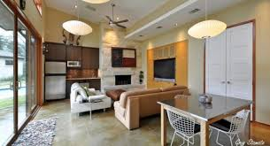 Kitchen And Living Room Design Ideas