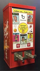 Retro Vending Machine Vol 1 Classy Vintage 48s Topps Baseball Sports Card Vending Machine Willie Mays