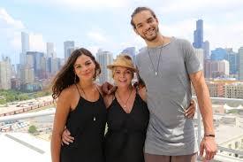 joakim noah wife. Perfect Noah Joakim With His Mom And Sister Image Source And Noah Wife E