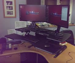 full size desk simple stand. Full Size Of Desk, Incredible Brown Wooden Corner Standing Desk Complete With File Drawer Nickel Simple Stand N